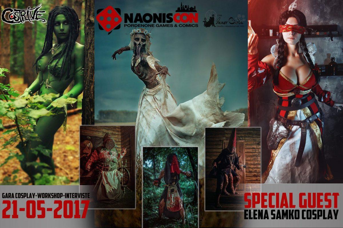 Ospiti 2017: Elena Samko Cosplay