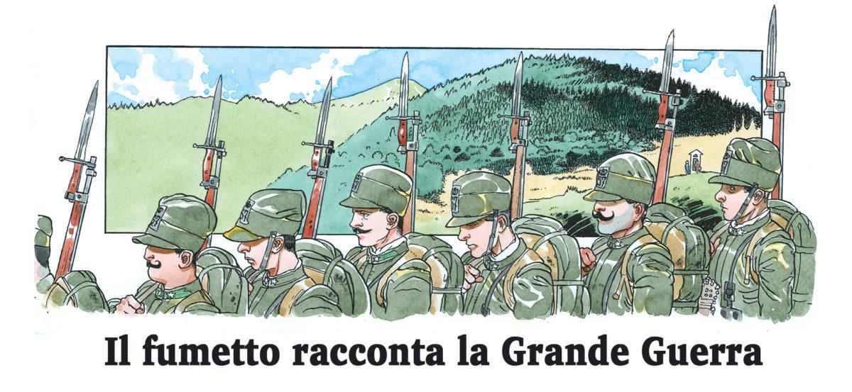 Il fumetto racconta la Grande Guerra